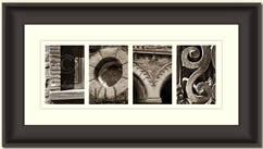 Alphabet Photography Framed Word Love