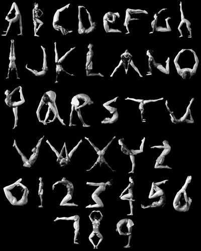 Human Alphabet By Photography Inc