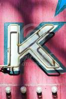 Alphabet Photography Letter K