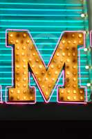 Alphabet Photography Letter M