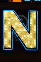 Alphabet Photography Letter N