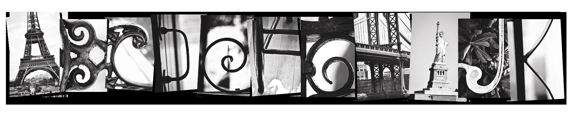 Alphabet Photography Inc | Letter Art | Alphabet Art