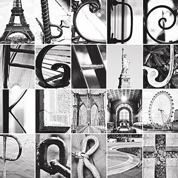 photo regarding Free Printable Alphabet Photography Letters called Alphabet Pictures Inc Letter Artwork Alphabet Artwork